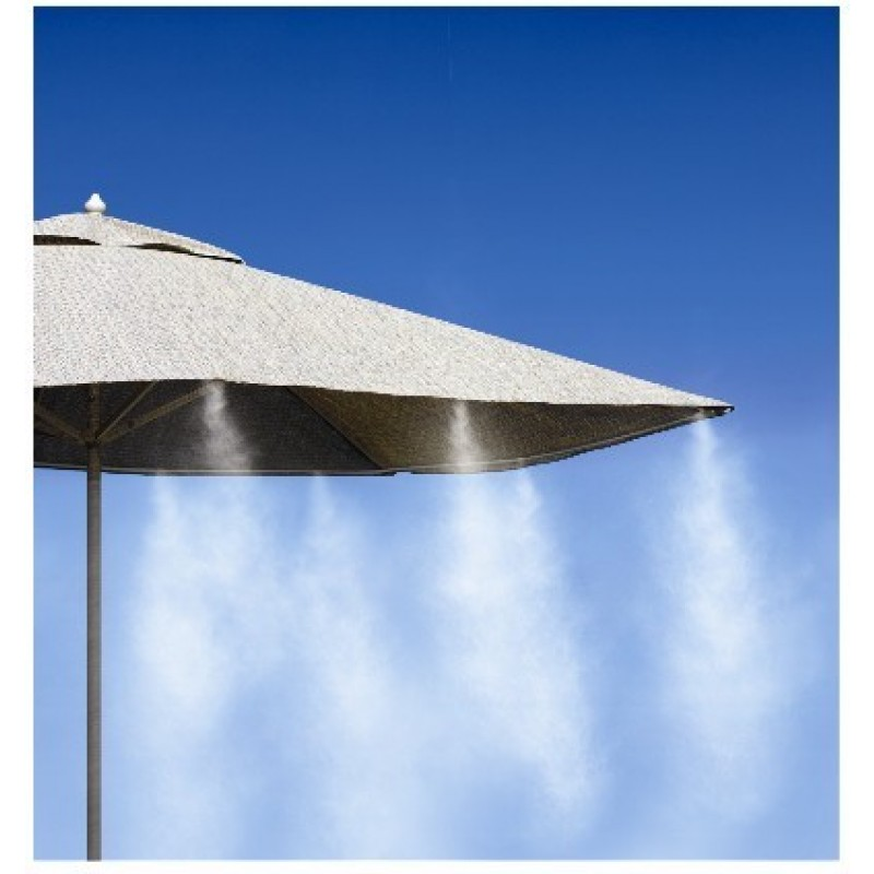 Mist System Product : Cooling mist set for umbrellas chairs pet kennels