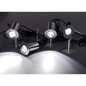 Led minispots 4-er set