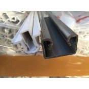 C-profiles for polyethylene film fixing