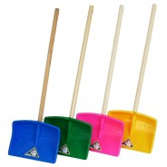 Snow shovel TEDDY for children with puzzel