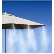 Cooling mist set  for umbrellas, chairs, pet kennels